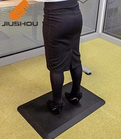 Anti fatigue PU gel fall protection lift desk operation standing up mat