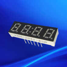 "0.28"" 4 digital clock led display module ultra red color"