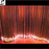 Fashion New concept Smart color changing fiber curtain Made of 3*0.75 Mitsubishi ESKA fiber For hotel curtain decoration
