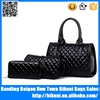 New products 3 pieces set lady handbag purse bag tote messenger fashion women handbags