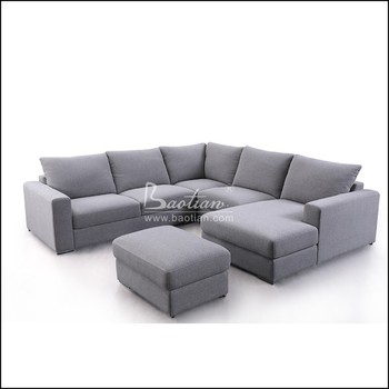 Living Room Big Sofa Furniture Designs Luxury Modern Fabric Sofa Set 7  Seater With Foot Ottoman - Buy Living Room Sofa,Sectional Fabric Sofa,Sofa  Set ...