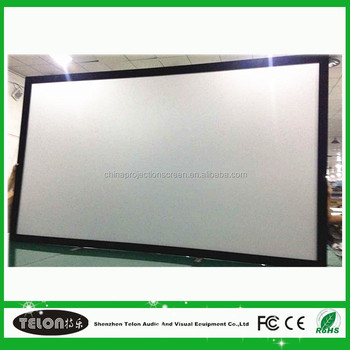 Large Size Fixed Frame Screen With Customized Service - Buy 3d Fixed ...