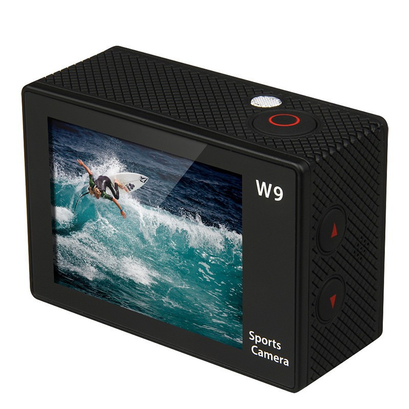 New Arrival Full HD DVR Sport DV W9 Wifi 1080P Waterproof 30M Camera 2.0inch