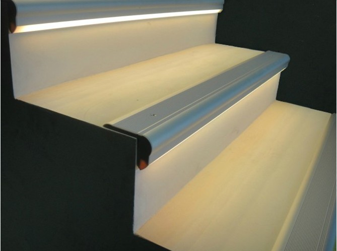 Lighting Basement Washroom Stairs: Free Shipping Aluminum Profile 50x2m For Led Stair Big