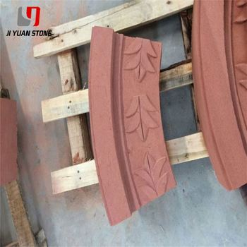 Better Price Red Sandstone Tile Honing Machine Stone