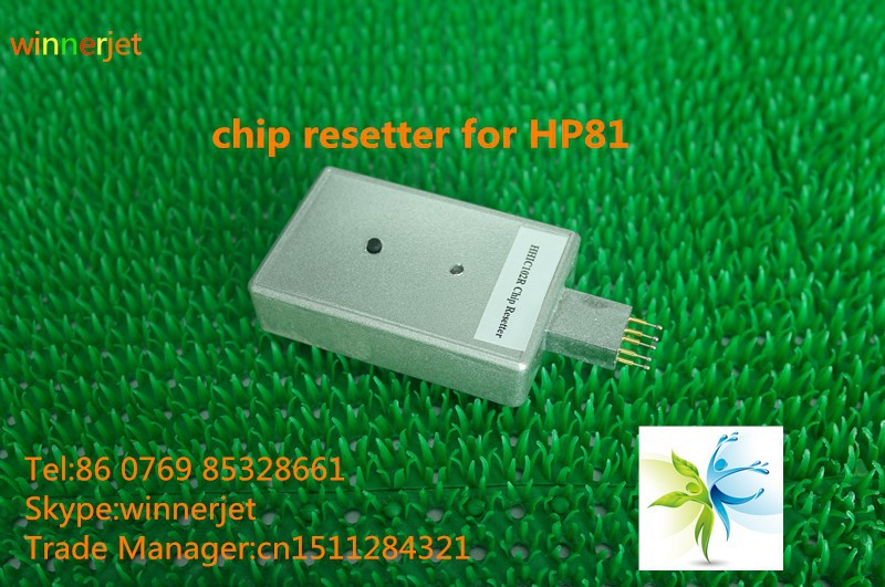 Best selling ! reset for HP81 chip resetter for HP designjet 5000ps