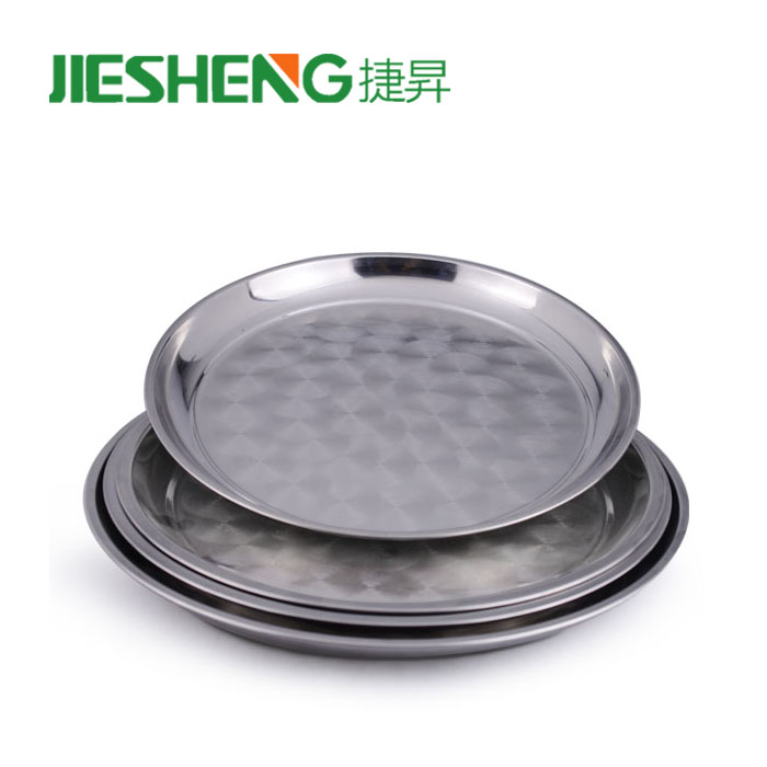 New 2018 ss 201 dinner stainless steel plate price
