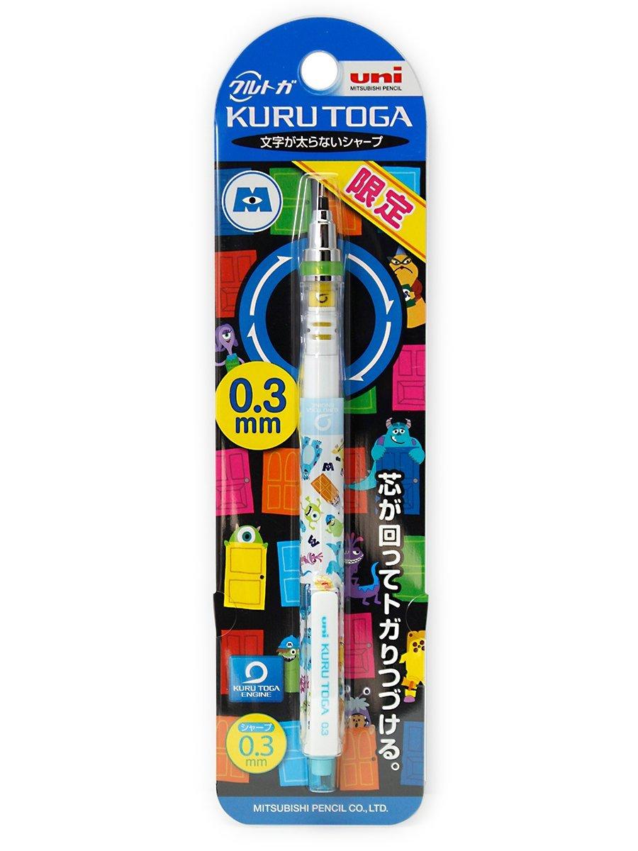 Get Quotations · Kuru Toga 0.3mm Monster's Inc. Kurutoga Mechanical Pencil,  limited edition (Japan Import