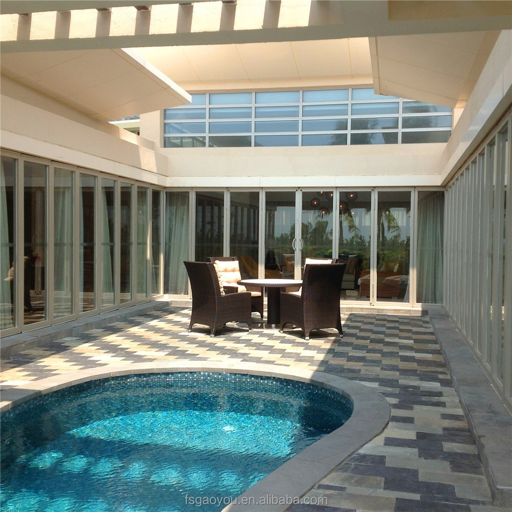 Swimming Pool Glass Wall Partition Outdoor Sliding Glass Partition With  High Quality - Buy Outdoor Sliding Glass Partition,Glass Wall ...