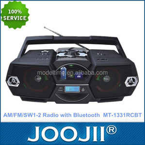 New Arrival Portable Digital Boombox AM FM SW Radio with bluetooth /USB/SD function