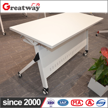 New import furniture from china conference room folding flip up office and school training study laptop table
