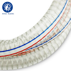 China Supplier Produce Reinforced Spiral Transparent Pvc Steel Wire Hose