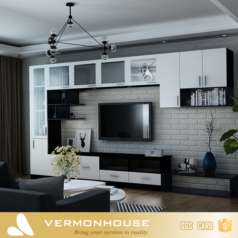 2018 Hangzhou Vermont TV Wall Units Stands And Living Room Furniture