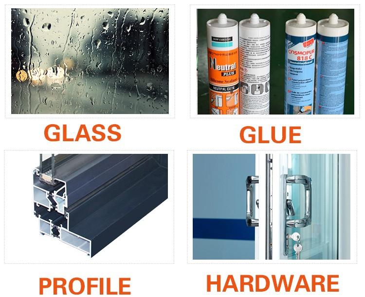 Hot sale insulated aluminium double glazed cheap interior for Cheap double glazing