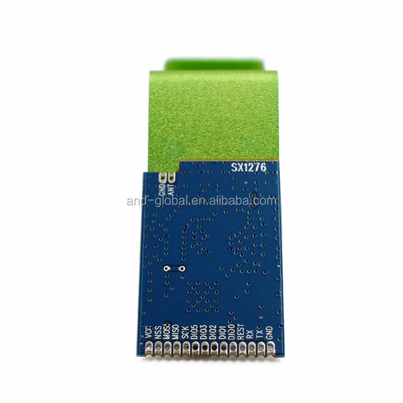 Wireless SX1276 LoRa Module, 868MHz and 915MHz, 3.3V 3~5km,low cost RF front-end transceiver module based on SX1276,antena inclu