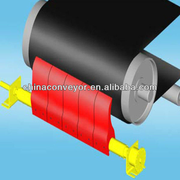 Belt conveyor cleaner/Rubber belt cleaner
