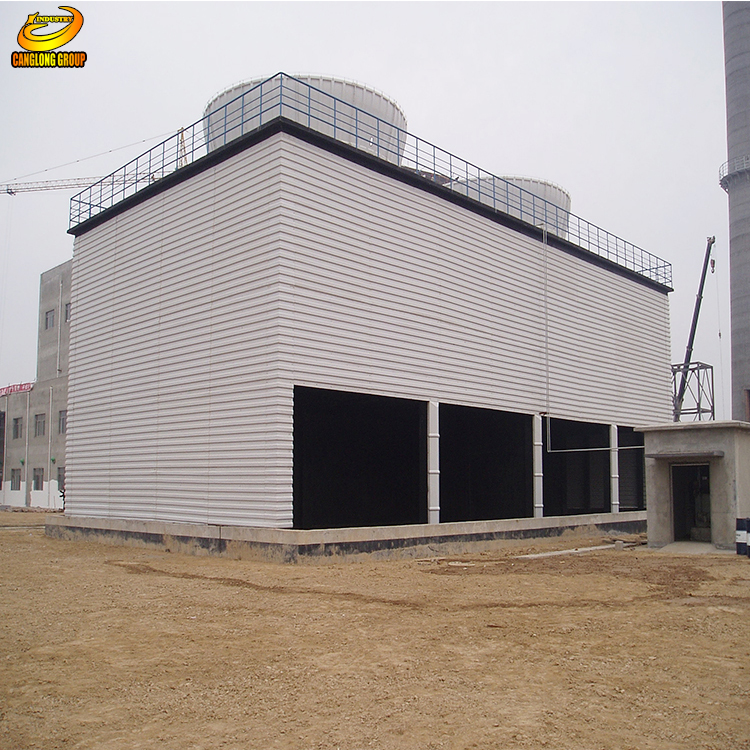 Container processing house workshop made in china
