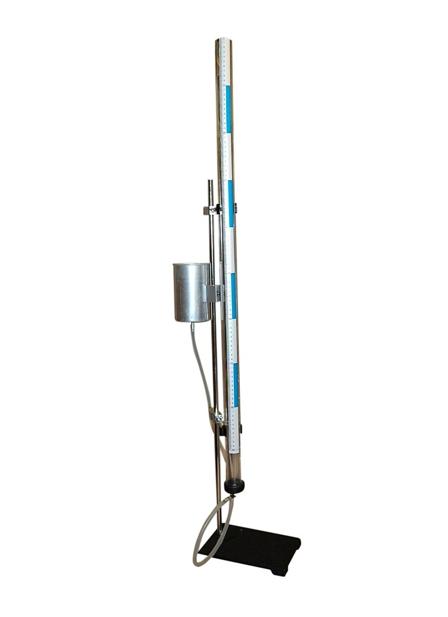 """Jumbo 36"""" Resonance Tube Kit Complete with (2) Tuning Forks and Heavy Duty Clamping Stand"""