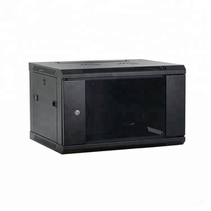 SPCC 4U 6U 9U network wall mount cabinet 19inch server rack enclosure