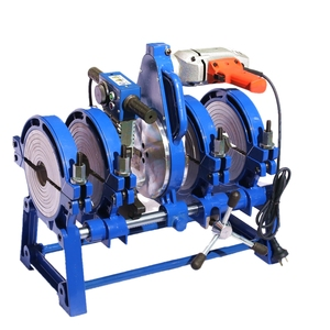 63/160mm manual plastic pipe PE butt fusion welding machine cheap price  /butt fusion hdpe pipe fitting welder