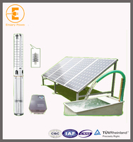 solar power irrigation pump system for deep well with 3 phase inverter