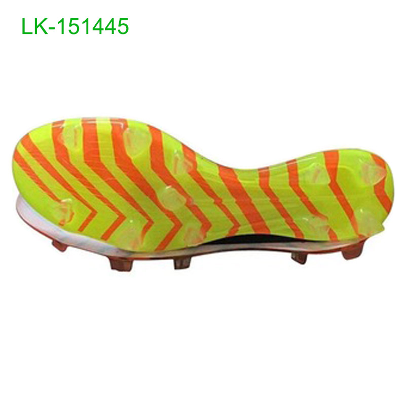 2016 New designs soccer shoes TPU quality outsoles
