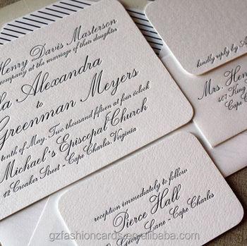Letterpress Wedding Invitations.Letterpress Wedding Invitations Suite Wedding Invitation Cards Sets Buy Letterpress Wedding Invitations Suite Wedding Invitation Cards