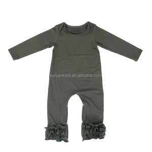 df433d2302a6 Baby Triple Ruffle Icing Romper
