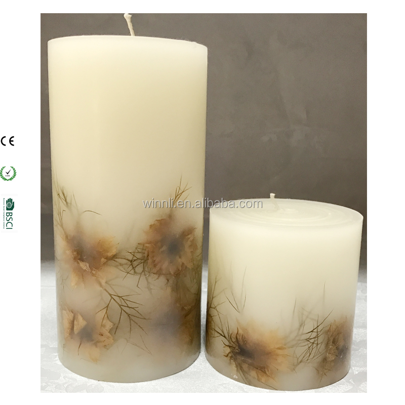 embedded shells wax flickering candles remote timer decorative candle light