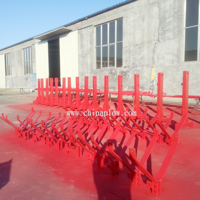 Farm equipment Land leveler matched with 4 wheel tractors