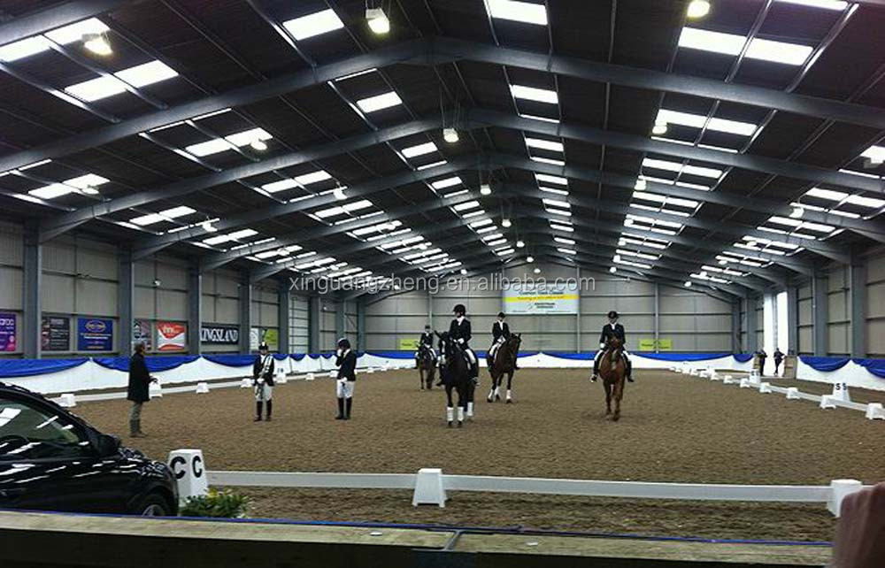 Steel structure Indoor Horse Riding Arenas with CE certification