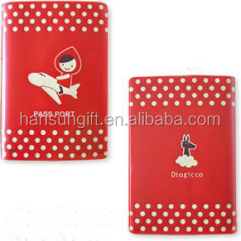 6P Phthalate Free PVC Travel Documents And Passport Holder With Full Color Printing