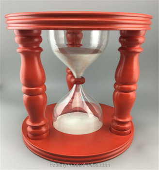 5 Min/15min Large Hourglass Wood Sand Timer - Buy Large Hourglass Sand  Timer,Hourglass Sand Timer 15 Minute,Hourglass For Kids Product on  Alibaba com