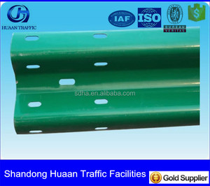 powder coating type Crash barrier beam for hill city road used