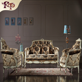 French Style Sofa Set Roman Style Furniture Antique Living Room