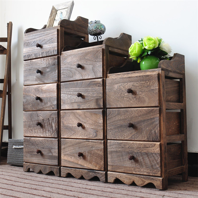 Wooden Cabinet Small Drawer 4 Drawer File Cabinet - Buy ...