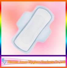 Competitive price plastic backed sanitary pad