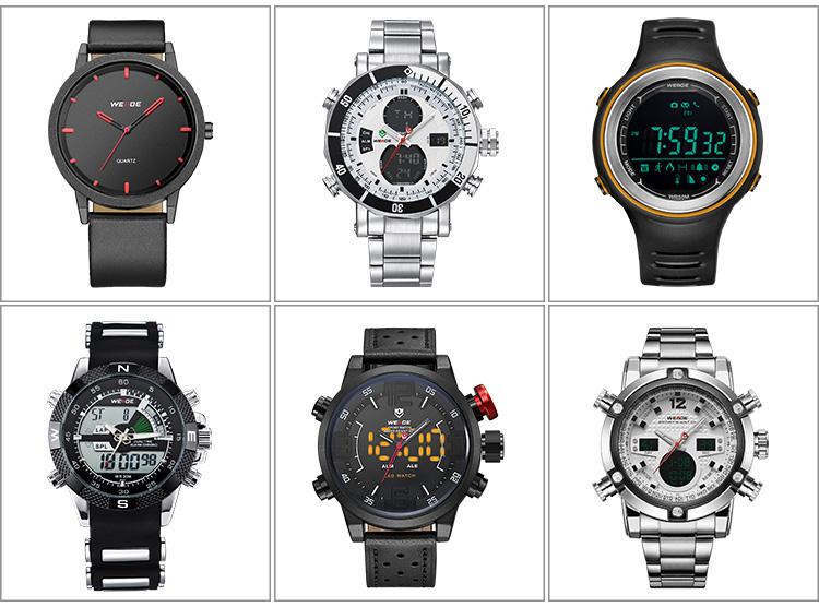 ساعة ذكية Weide بشاشة لمس مقاس 2.5D وسطح ثعلب بالسعة مزودة بشاشة لمس 4 بوصة مزودة بخاصية بلوتوث لمراقبة معدل ضربات القلب تعمل بنظام التشغيل Ios وأندرويد