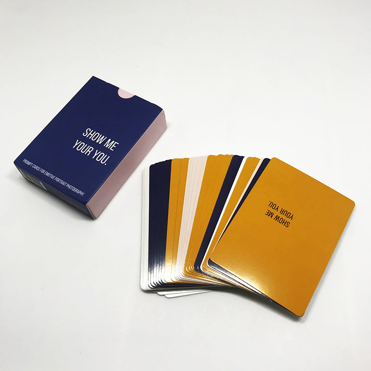 Good Quality Custom Flash Paper Cards Printing