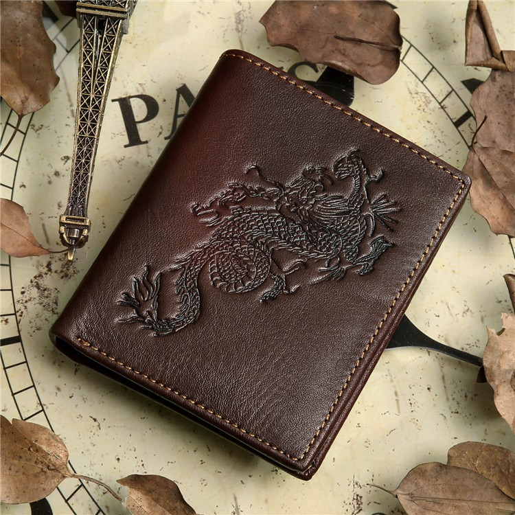 Hot Sale Man Genuine Imperial Leather Wallet Wholesale To Import #8012-2C