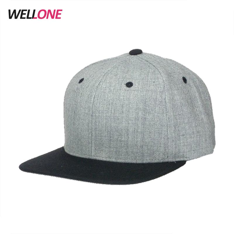 China Wool Snapback Caps 9dd2b3f80419
