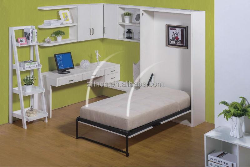 사용 싼 트리플 벽 침대, 금속 프레임 벽 침대 성인 침실 가구 ...