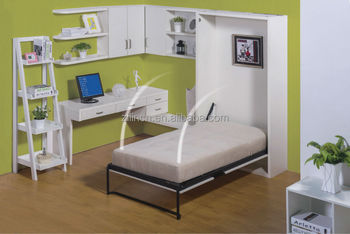 Used Cheap Triple Wall Bed For Sale Metal Frame Wall Beds