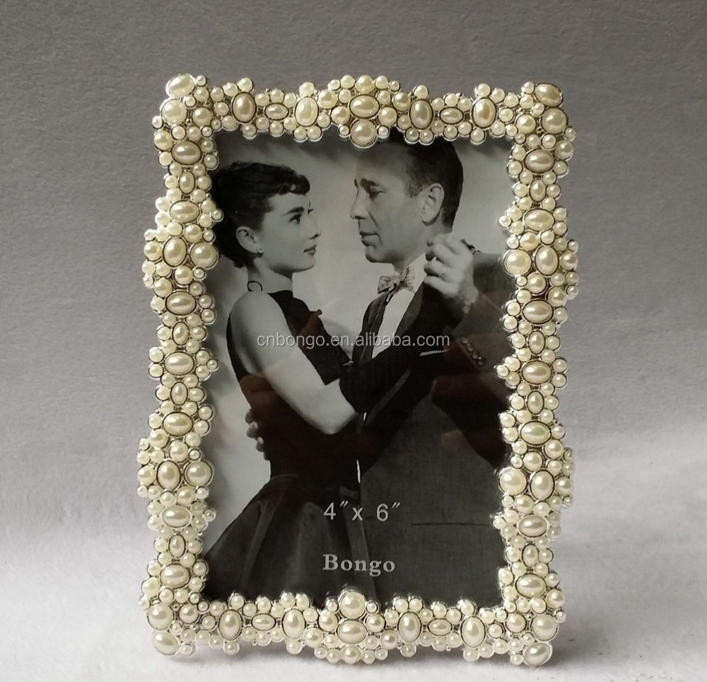Rhinestone Pearl Picture Frames Wholesale, Picture Frame Suppliers ...