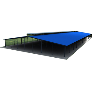 Livestock Panels Steel Structure Farm Shed Building