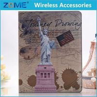 World Map Stand Pu Stylish Leather For Ipad 234 Cool Book Style Leather Case