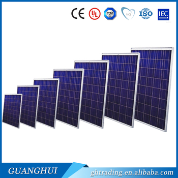 Cheap 135wp 140w 150w anodized aluminum poly photovoltaic for Affordable solar frames