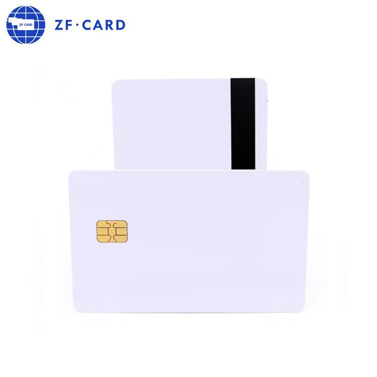 Günstige Großhandel Custom PVC Leere Kontakt IC Karte AT88SC25616C-MJ Smart Karte