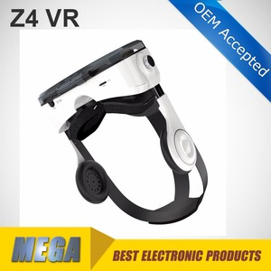 VR 3D glasses vr Z4 3D glasses with headphone Virtual Reality headset for iphone for samsung