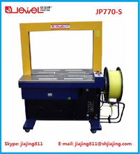 Hotsale!! Shanghai JEWEL JP760-770 pallet strapping machine, automatic pallet strapping machine with factory price